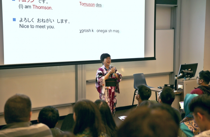 Photo of Professor Chihiro Thomson, Scientia Education Fellow