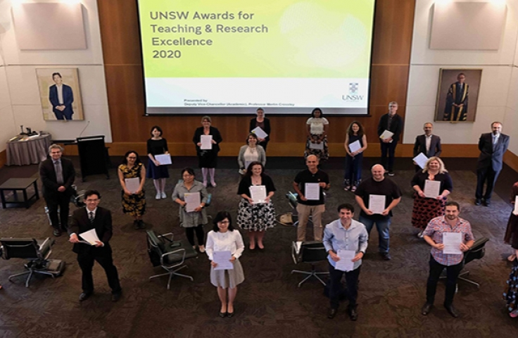 UNSW award winners